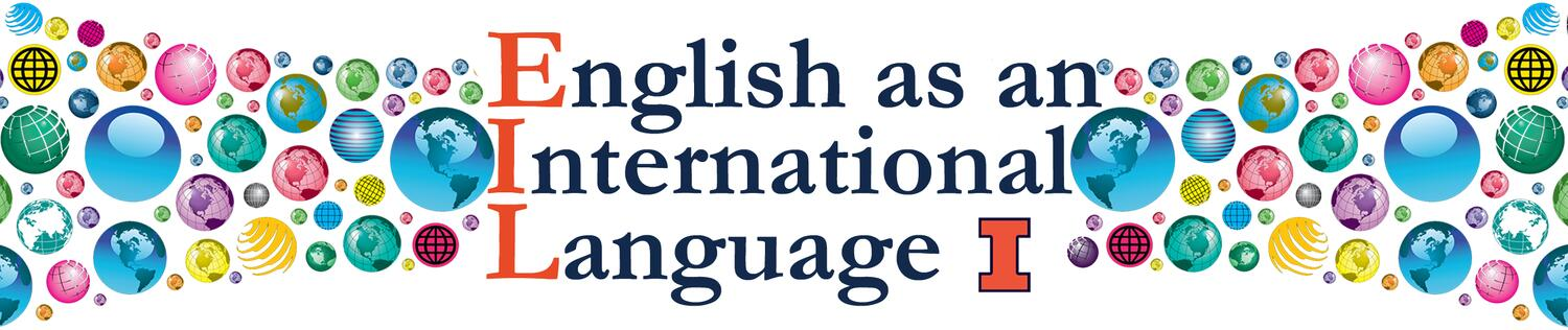 Banner image for English as and International Language